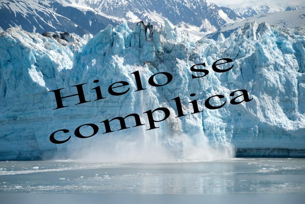 hielo se complica
