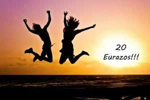 20 eurazos
