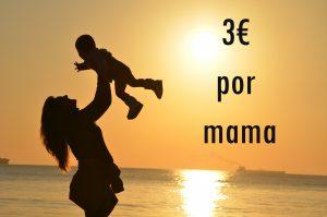 cupones fever 3 euros por mama