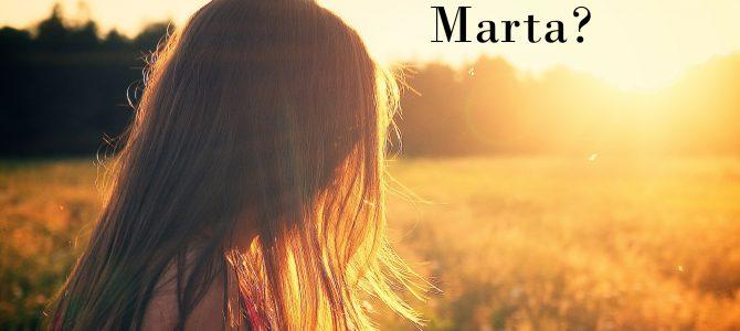 Conoce a Marta